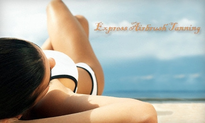 Express Airbrush Tanning - Killearn Estates: $35 for Two Custom Airbrush Tans from Express Airbrush Tanning (Up to $80 Value)