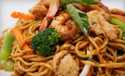 $20 Groupon for Lunch - Best Thai in Dallas