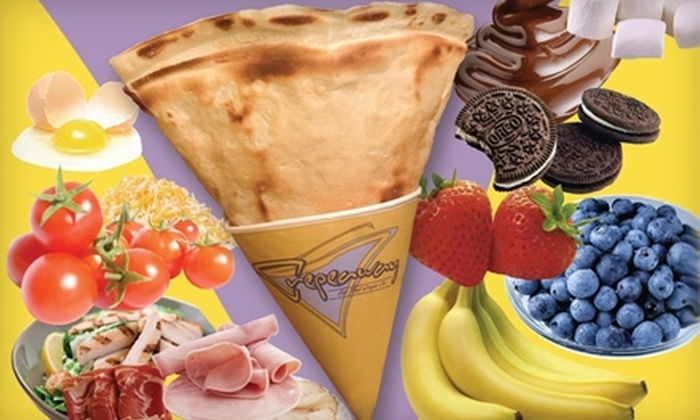 Crepeaway - Greenwich Village: $5 for $10 of Crêpes and More at Crepeaway