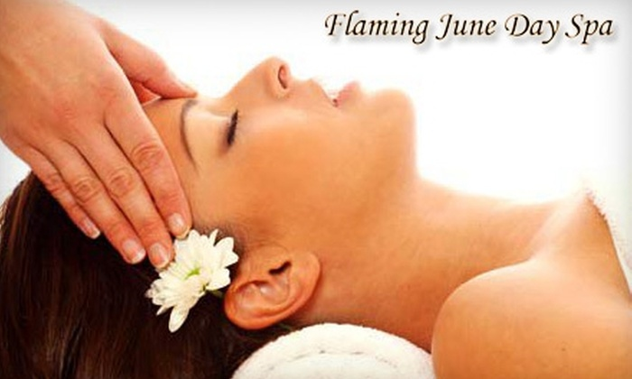 Flaming June Day Spa - Grandview-Woodland: $39 for a 60-Minute Massage at Flaming June Day Spa