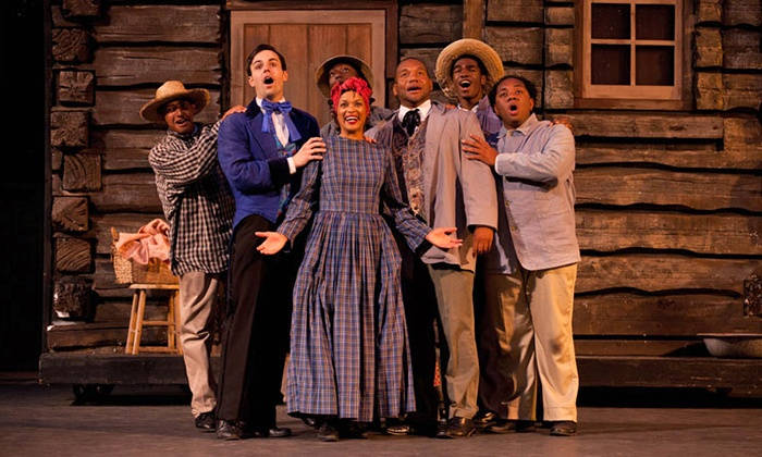 """The Stephen Foster Story"" - J. Dan Talbott Amphitheater: ""The Stephen Foster Story"" for Two at My Old Kentucky Home State Park on June 14–August 15 (Up to 50% Off)"