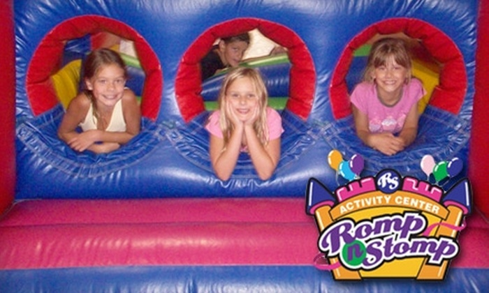 Romp n Stomp - Sharon: $6 for a One-Day Toddler Time Open Play Pass, Plus Pizza and Drink at Romp n Stomp in Medina (a $13 Value)