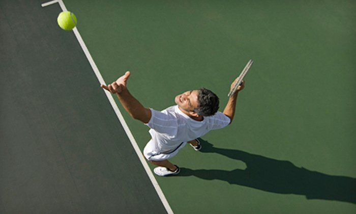 Tennis in Urbana - Urbana: 60-Minute Private Lesson or Six-Week Clinic from Tennis In Urbana in Frederick (Up to 56% Off)