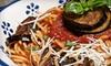 Monastero's - North Park: Fine Sicilian and Italian Fare for Lunch or Dinner at Monastero's Ristorante & Banquets (Half Off)