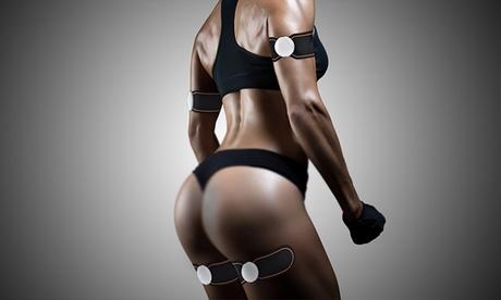 1, 2, 3 o 4 entrenadores musculares EMS para bíceps, glúteos, piernas y abdomen