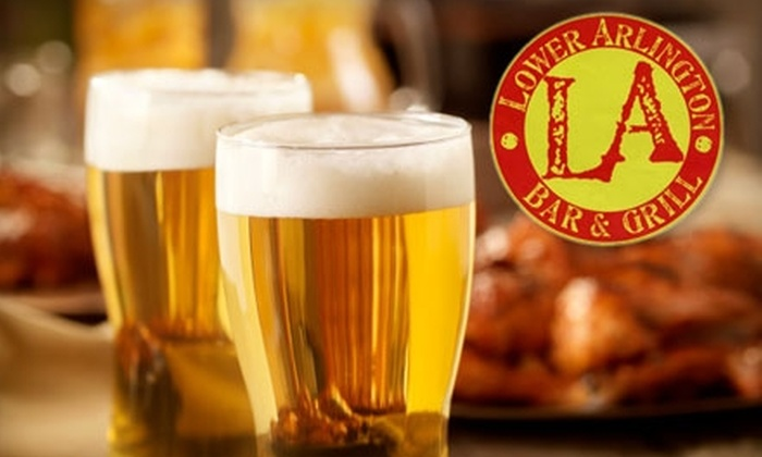 L.A. Bar & Grill - Washington DC: $15 for $30 Worth of Pub Fare and Drink at L.A. Bar & Grill