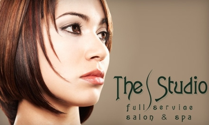 The Studio: Salon & Spa - Washington: Hair Services and Massage at The Studio: Salon & Spa. Choose from Three Options.