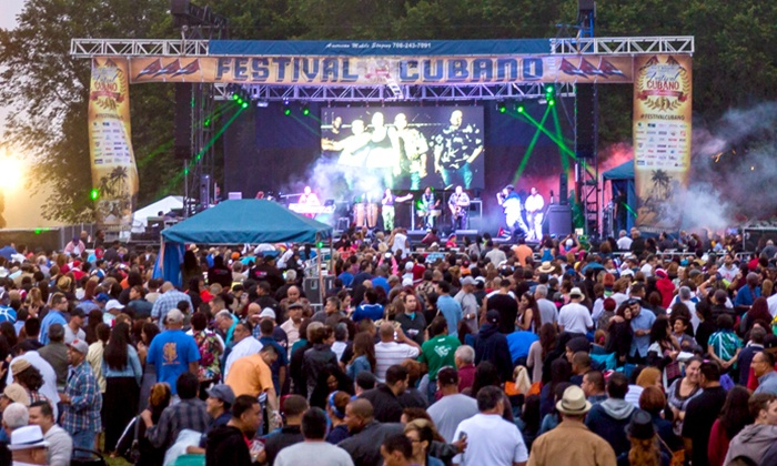 Festival Cubano - Rils Park: General Admission for Two or Four to The Cuban Festival on August 12–14 (Up to 50% Off)