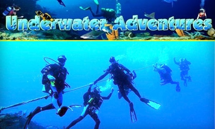 Underwater Adventures - Farmington: $20 for an Introductory Try-Scuba Program at Underwater Adventures ($50 Value)