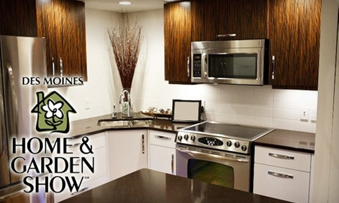 Des Moines Home & Garden Show - Downtown Des Moines: $10 for Two Tickets to the Des Moines Home & Garden Show (Up to $20 Value)