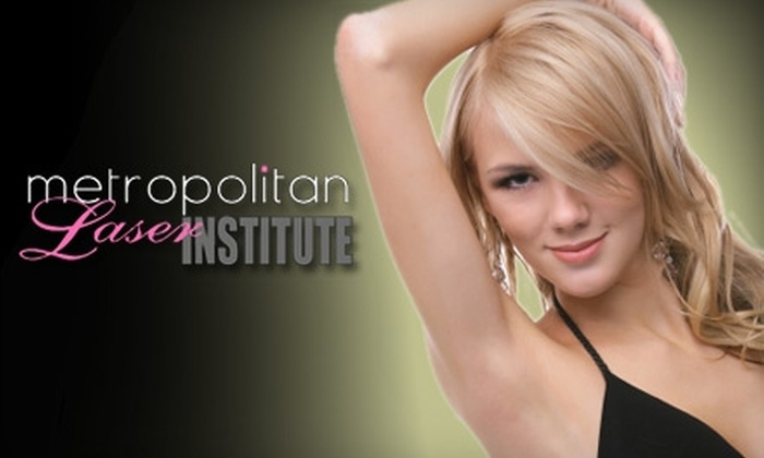 Metropolitan Laser Institute - Afton Oaks/ River Oaks: $149 for Three Laser Hair-Removal Sessions at Metropolitan Laser Institute