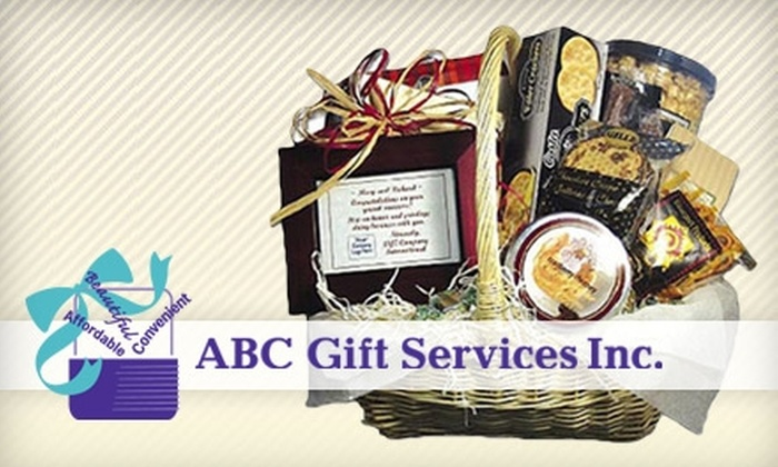 ABC Gift Services - Minneapolis / St Paul: $25 for $50 Toward Gift Baskets from ABC Gift Services
