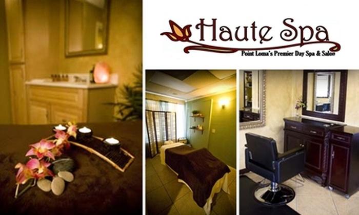 Haute Spa - Roseville - Fleet Ridge: $35 for $85 Worth of Services at Haute Spa