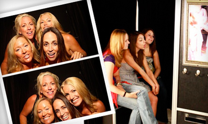 Flash Photo Booth Rentals - Mission Viejo: $450 for a Three-Hour Photo-Booth Package from Flash Photo Booth Rentals ($1,000 Value)