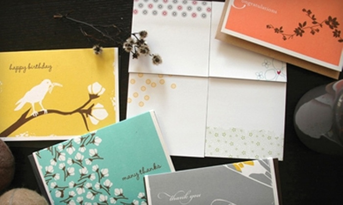 Good on Paper: $15 for $30 Worth of Stationery and Accessories from Good on Paper