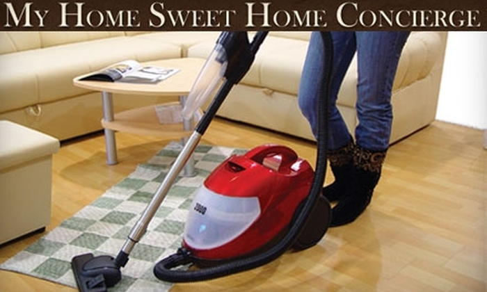 My Home Sweet Home Concierge - Spokane / Coeur d'Alene: $35 for Two Hours of House-Cleaning Services from My Home Sweet Home Concierge ($70 Value)