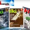 "<i>Ski Canada</i> Magazine: $12 for 10 Issues of ""Ski Canada"" Magazine ($28 Value)"