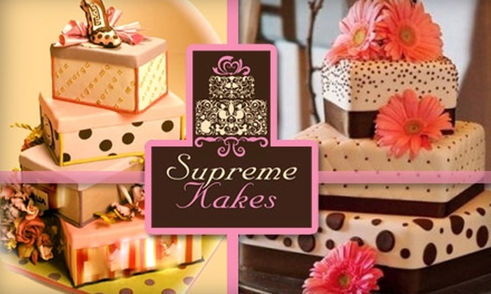 Supreme Kakes - Energy Corridor: $15 for $30 Worth of Cake, Pastries, and Lunch Fare from Supreme Kakes
