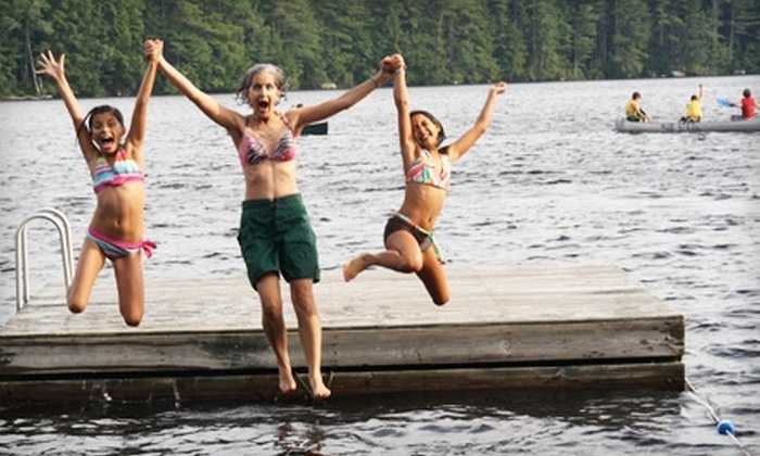 Windsor Mountain International Summer Camp - New York City: $750 for a Four-Day Family Camp at Windsor Mountain International Summer Camp in Windsor ($1,500 Value)