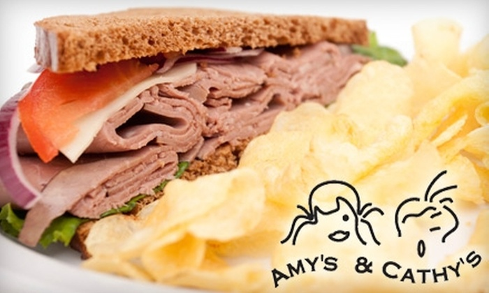 Amy's & Cathy's Take-Out - Seguin: $5 for $10 Worth of Sandwiches and More at Amy's & Cathy's Take-Out in Seguin