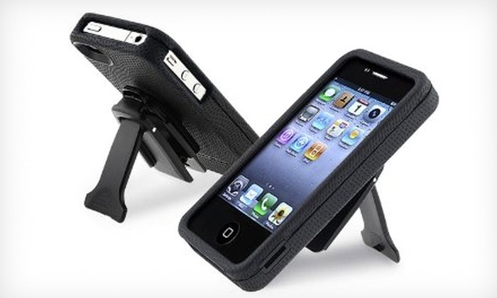 Body Glove iPhone Case with Kickstand: Body Glove Snap-On Case with Kickstand for iPhone 4 and 4S. Shipping Included ($32.99 Value).