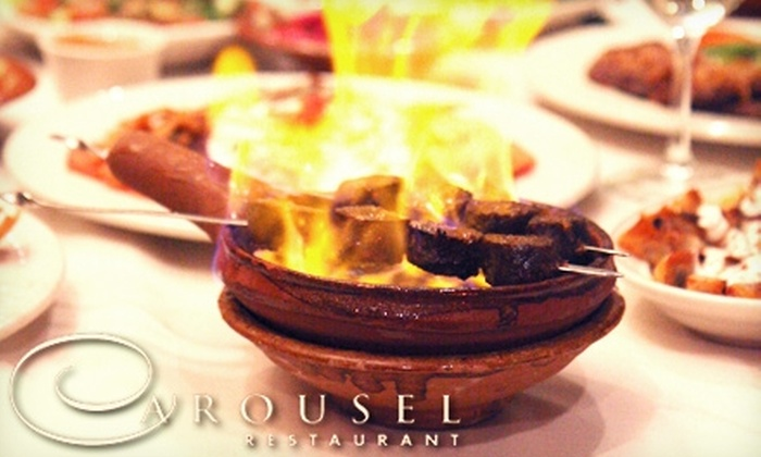 Carousel Restaurant - City Center: $39 for Two Tickets to Dinner Show ($77.90 Value) at Carousel Restaurant in Glendale