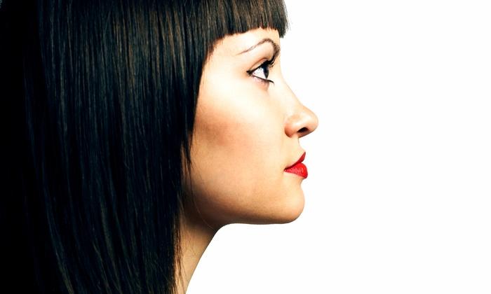 La Dolce Belladonna - La Dolce Belladonna: Haircut with Optional Make-Up Application or Ombre Hair Color at La Dolce Belladonna (Up to 52% Off)