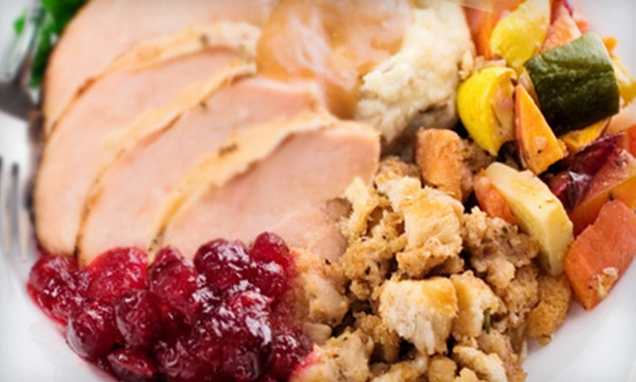 Taylor Made Café - Mayfair at Wellington: Thanksgiving Side Dishes for 10 or 5 People from Taylor Made Café in Wellington (Up to 53% Off)