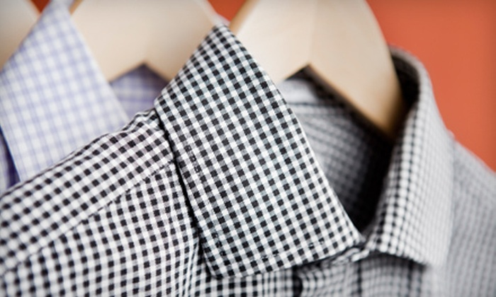 Swanson Cleaners - Downtown: Dry-Cleaning Services at Swanson Cleaners (Half Off). Two Options Available.