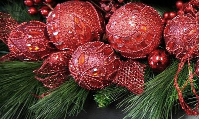 Prestige Décor & Furniture - Grandview: $15 for $30 Worth of Christmas Ornaments and Holiday Decorations at Prestige Décor & Furniture