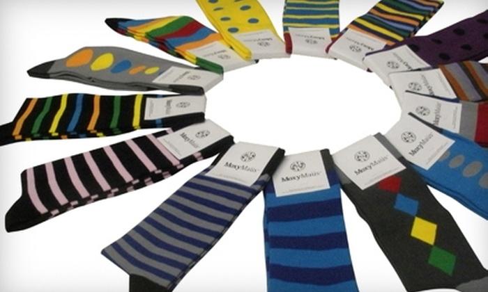 MoxyMaüs: $20 for $40 Worth of Socks from MoxyMaüs
