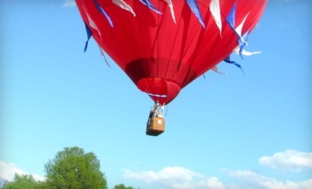 U.S. Hot Air Balloon Team - US. Hot Air Balloon Team in Bird in Hand