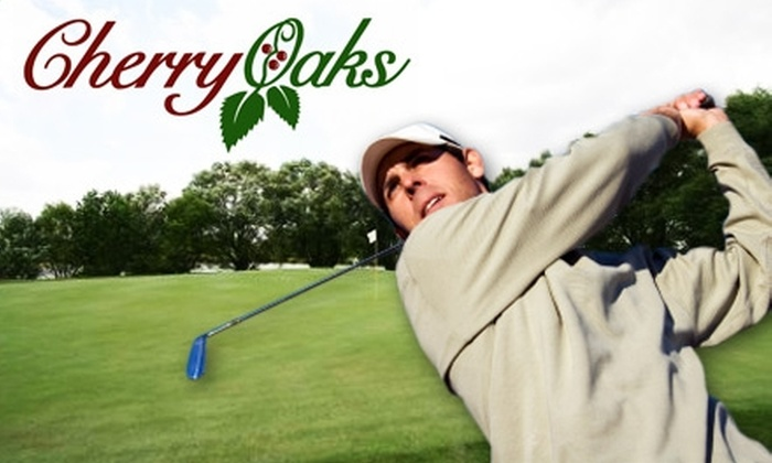 Cherry Oaks Golf Course - Cheney: $18 for an 18-Hole Round of Golf Including a Cart and Large Bag of Range Balls at Cherry Oaks Golf Course (Up to $37.50 Value)