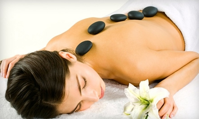 Rejuvenation Spa and Wellness Center - Multiple Locations: $59 for a Hot-Stone Massage and Foot Detox at Rejuvenation Spa and Wellness Center ($125 Value)