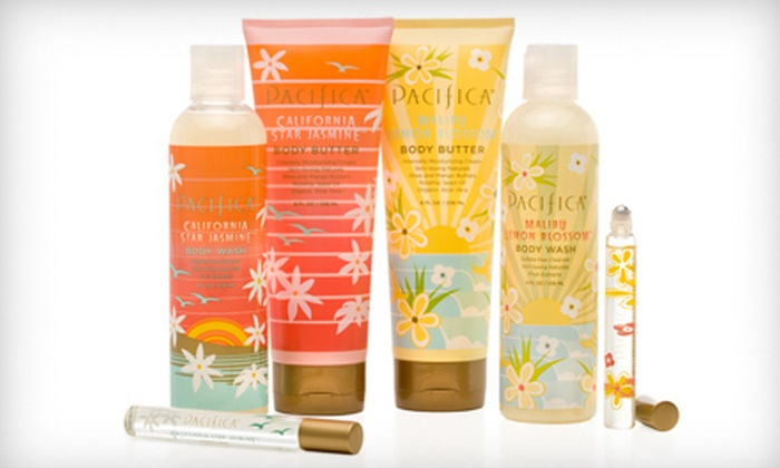Pacifica: Fragrances and Bath and Beauty Products from Pacifica (53% Off)