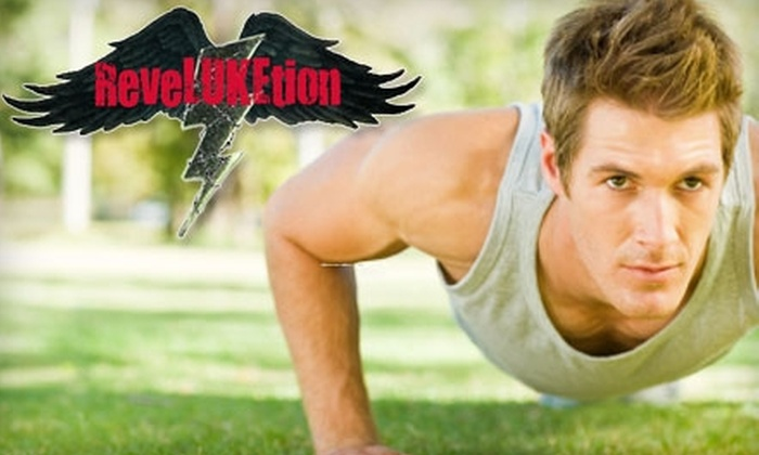 Reveluketion Fitness Bootcamp  - Crystal Bay - Lakeview Park - Britannia Village: $30 for a Five-Week Membership at Reveluketion Fitness Bootcamp ($100 Value)