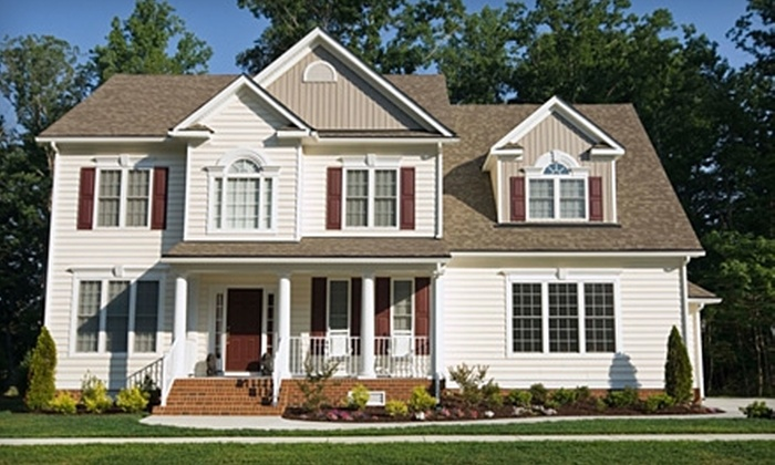 Five Star Painting - Multiple Locations: $99 for a Full Exterior Power Wash ($199 Value) or $59 for a Gift Card for $300 Toward Exterior Painting from Five Star Painting