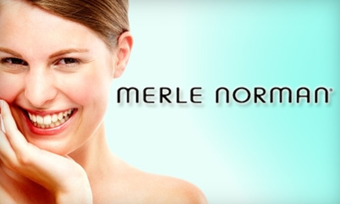 Merle Norman - Springboro: $35 for $70 Worth of Skincare Products, Makeup, and Vera Bradley Merchandise at Merle Norman