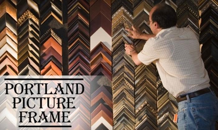 Portland Picture Frame - Creston - Kenilworth: $50 for $100 Worth of Framing Services at Portland Picture Frame