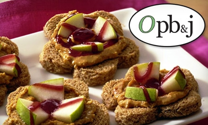 OPB&J - Downtown Colorado Springs: $4 for $8 worth of Gourmet Organic Peanut Butter and Jelly Creations at OPB&J