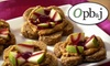 OPB and J - CLOSED - Downtown Colorado Springs: $4 for $8 worth of Gourmet Organic Peanut Butter and Jelly Creations at OPB&J