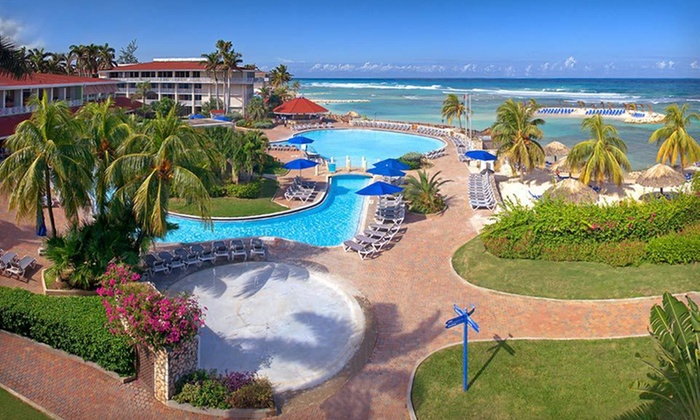 All-Inclusive Jamaican Vacation with Airfare - St. James: Seven-Night All-Inclusive Montego Bay Stay with Round-Trip Airfare from Vacation Express