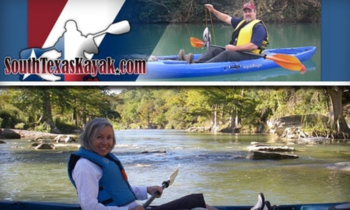 South Texas Kayak - San Antonio: $40 Guided Kayak Adventure from South Texas Kayak