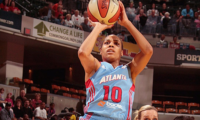 Atlanta Dream - Downtown: Atlanta Dream WNBA Basketball Game with Autograph Session at Philips Arena (Up to 60% Off). Four Options Available.