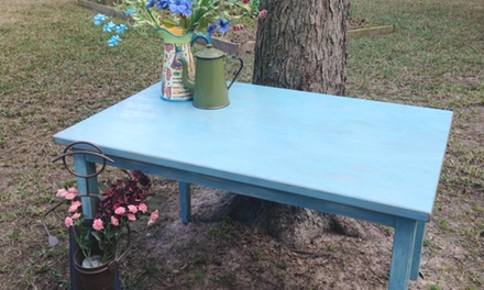 Two Hour Furniture Painting Lesson for One or Two at Hope and Happiness Fine Vintage Furniture (Up to 50% Off)