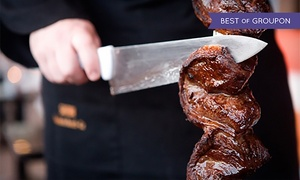 Samba Brazilian Steakhouse - Redondo Beach: All-You-Can-Eat Sunday Brunch with Bottomless Champagne for Two or Four at Samba (Up to 28% Off)