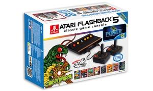 Atari Flashback 5 Classic Games Plug-and-play Console With Bonus Paddles