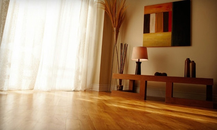 3 Brothers Concrete - Cleveland: Up to 200 or 650 Square Feet of Hardwood-Floor Refinishing from 3 Brothers Concrete (Up to 60% Off)