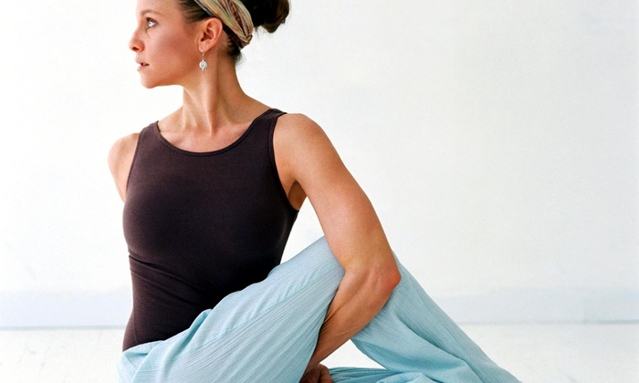 Palm Yoga & Jiu Jitsu - Palm Yoga & Jiu Jitsu: Four Weeks of Unlimited Yoga Classes at Palm Yoga (74% Off)