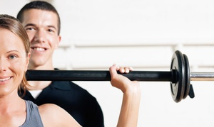 The Sanctuary: Three or Six One-Hour Personal-Training Sessions at The Sanctuary (Up to 73% Off)
